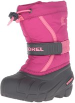 Sorel Childrens Flurry (Tod/Yth) - Deep Blush/Tropic Pink - 11 Toddler