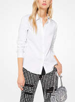 Michael Kors Cotton-Poplin Shirt