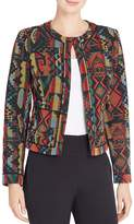 Catherine Malandrino Laurel Geometric Print Jacket