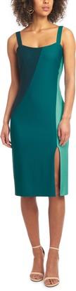 Rachel Roy Sleeveless Colorblock Sheath Dress