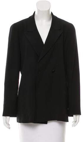 Chanel Wool Double-Breasted Blazer