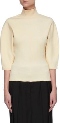Acne Studios High neck blouson sleeves sweater