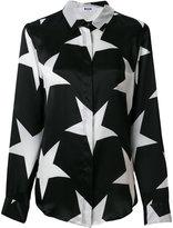 MSGM long sleeved star shirt