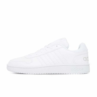 adidas Hoops 2.0 Women's Basketball Shoes White (Ftwwht/Ftwwht/Ftwwht Ftwwht/Ftwwht/Ftwwht) 8 UK (42 EU)