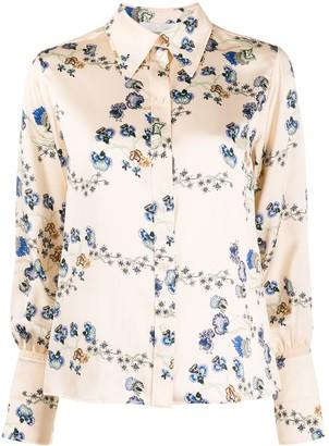 Chloé Floral-Print Shirt