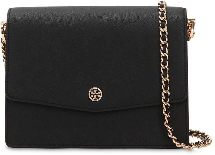 Tory Burch Robinson Leather Shoulder Bag