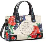 Tory Burch ELLA FLORAL QUILT MICRO TOTE
