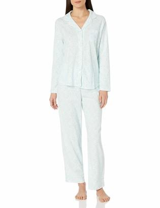 Karen Neuburger Plus Size Women's Pajama Long-Sleeve Girlfriend Pj Set