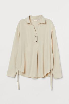 H&M MAMA Lyocell nursing blouse