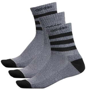 adidas Men's 3-Pk. High Quarter Socks