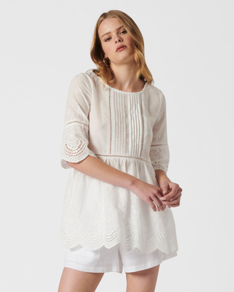 Mvn The Mockingjay Lace Top
