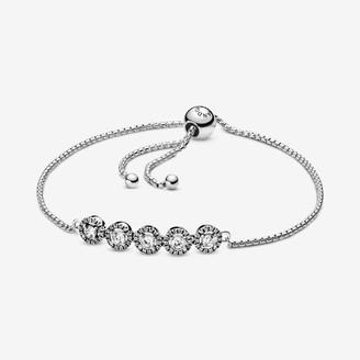 Pandora Women Silver Hand Chain Bracelet 598510C01-2