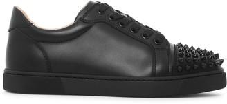 Christian Louboutin Vieira spikes black leather sneakers