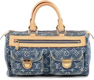 Louis Vuitton Speedy Neo Monogram Denim Blue