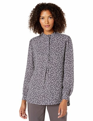 Anne Klein Women's Long Sleeve Tunic Blouse