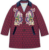 Gucci Children's wool coat with dragons