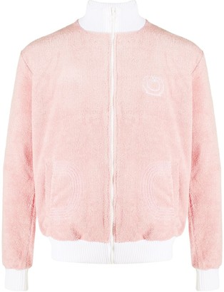Casablanca Textured Cotton Track Jacket