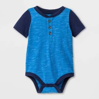 Cat & Jack Baby Boys' Faux Creek Short Sleeve Jersey Bodysuit - Cat & JackTM