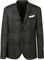 Neil Barrett Plaid Wool Blazer