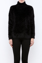 MinkPink Fuzzy Turtleneck