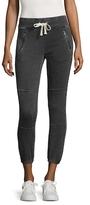 Betsey Johnson Distressed Cotton Pants