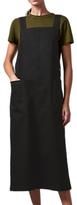 Toast Denim Apron Dress, Black