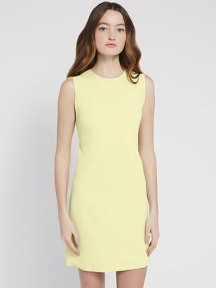 Alice + Olivia Coley Crew Neck Mini Dress