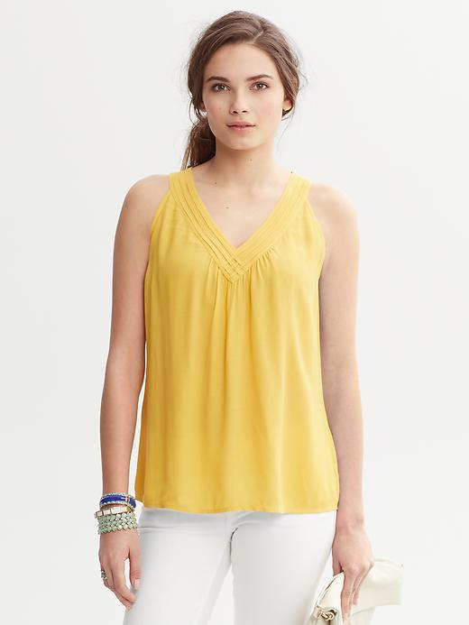 Banana Republic Nadia V-Neck Top
