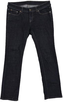 Celine Navy Cotton - elasthane Jeans