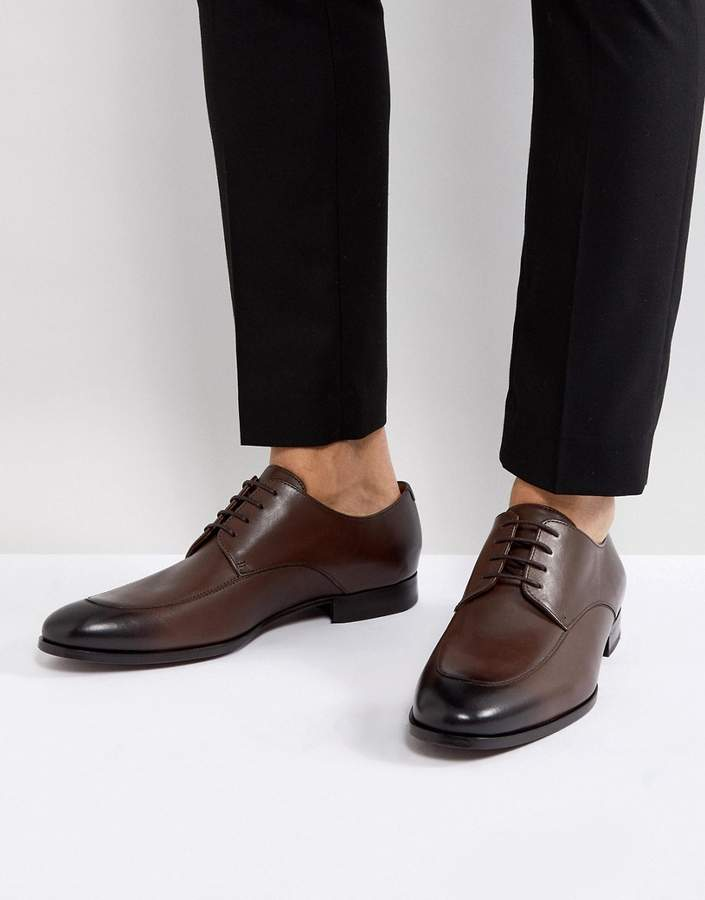 BOSS Hanover Derby Shoes in Brown