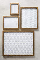 Anthropologie Brass Intaglio Frame