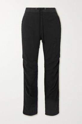 James Perse Cotton-blend Twill Track Pants - Black