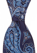 Daniel Cremieux Big & Tall Overgrown Paisley Traditional Silk Tie