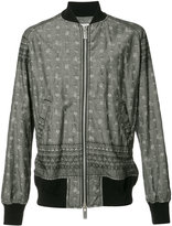 Sacai printed bomber jacket - men - Cotton/Polyester - 2