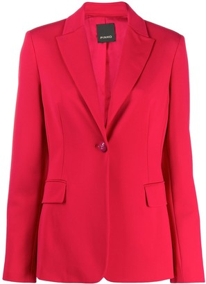 Pinko Fitted One Button Blazer