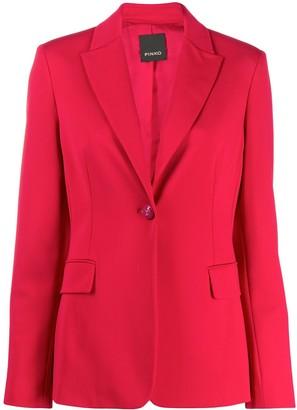 Pinko fitted one button blazer