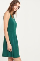 Dynamite Pleated Fit And Flare Dress