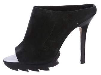 Camilla Skovgaard Suede Slide Sandals