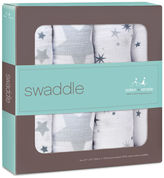 Aden + anais Twinkle Cotton Swaddle 4-Pack