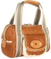 UGG Shearling Small Duffel (Chocolate) - Bags and Luggage