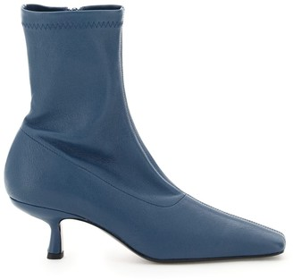 BY FAR Audrey Pointed-Toe Ankle Boots