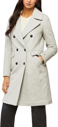 Soia & Kyo Evette Wool Blend Coat