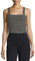 RED Valentino Sleeveless Knit Crop Top
