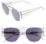 Karen Walker Women's X Monumental Buzz 53Mm Sunglasses - Black