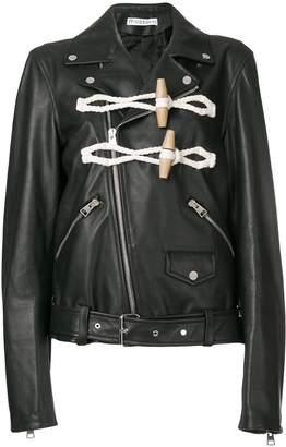 J.W.Anderson women's biker jacket with toggle detail