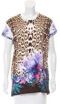 Just Cavalli Printed Oversize T-Shirt