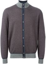 Loro Piana cashmere contrasting detail cardigan