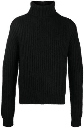 Saint Laurent Knitted Turtleneck Jumper