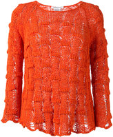 Lamberto Losani chunky knit jumper - women - Cotton/Polyimide - S