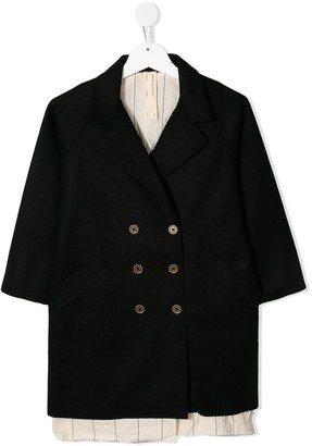 Little Creative Factory Kids Combined Double-Breasted Coat